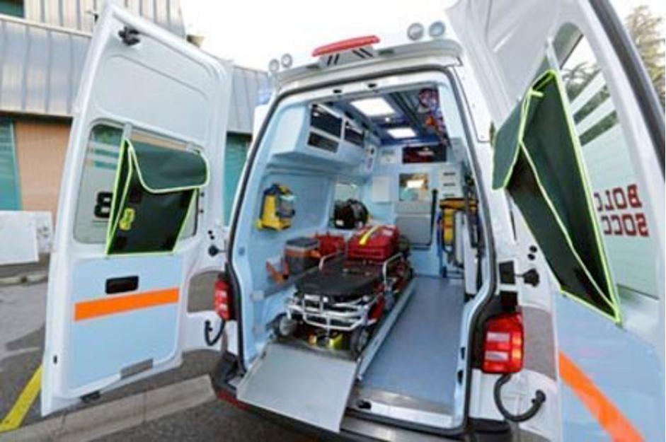 Malasanità Bombole Ambulanza